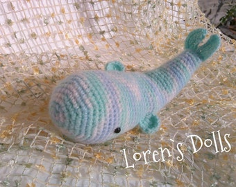 Baby Whale Crochet Toy