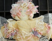 Cloth Doll with Antique Style Dress