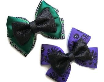 Haunted Mansion Disneyland Inspired Hair Bows