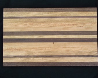 Custom Butcher Block Cutting Board.  Gorgeous and Unique gift perfect for Christmas, Birthdays, Anniversary, House Warming or Weddings.