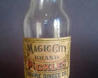 Vintage Pickle Jar