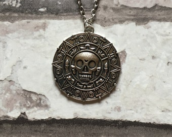 Silver Pendant Pirates of the Caribbean Style