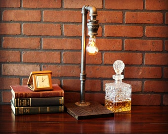 Industrial Table Lamp - Industrial Lighting - Industrial Lamp