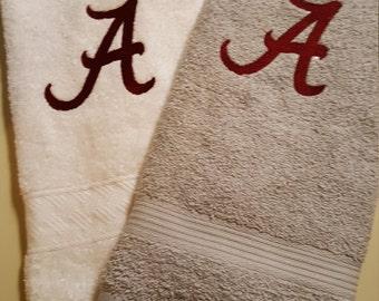 Hand Towel, Alabama, Roll Tide