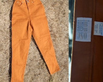 Vintage Rust Orange OSC Sport Highwaisted Jeans