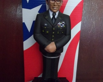 """General Colin Powell Figure """"Operation We Care"""" The Salvation Army"""