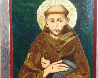 St. Francis of Assisi - original ICON