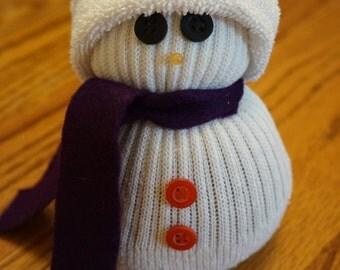 Sock snowman/ Winter decoration/ Snowman decoration/ Christmas decoration