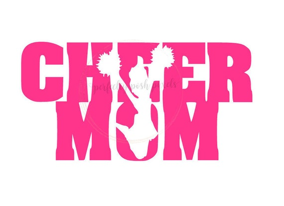 Cheer Mom Svg Cheerleader Sports Megaphone Cricut Design Space