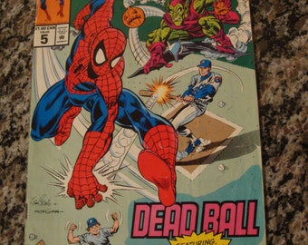 Amazing Spider Man Dead Ball #5 Montreal Expos
