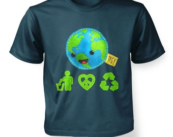 Care For Earth kids t-shirt