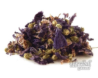 Mallow, Dried Flowers, Greek 100g (3.5oz.)