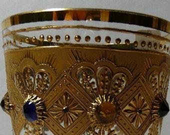 Jeweled Bohemian Beaker