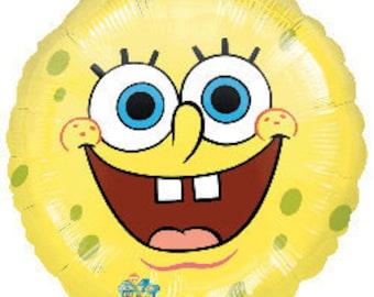 SpongeBob SquarePants Smiles Foil Mylar Balloon