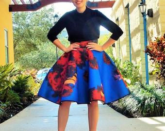 Cupcake Skirt- Blue