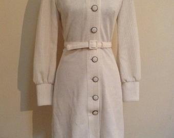1960s Coat/dress/Amazingly Stylish/size8