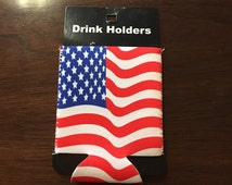 American Flag Drink Holder