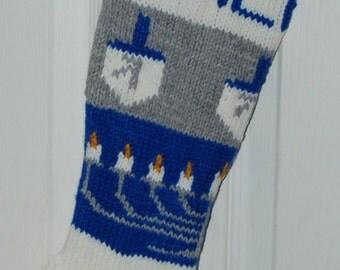"Shop ""hanukkah stocking"" in Art & Collectibles"