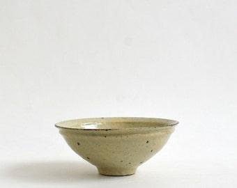 Rice Bran Glaze Serving Bowl(6 in) / Takashi Sogo (15005504-01N)