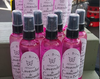 Lavender & Camomile Linen and body spray