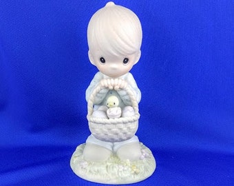 Wishing You A Basket Full of Blessings - Precious Moment Figurine