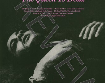 Tshirt - The Smiths: The Queen Is Dead (1986)