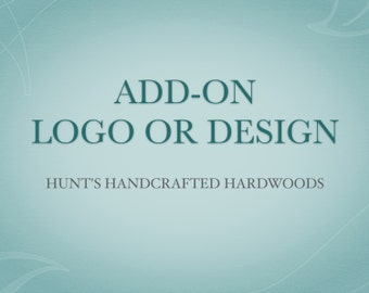 ADD-ON Logo or Design for Name Plate!