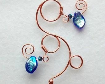 Blue Iridescent Fairy Acorn