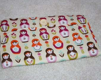 Pocket baby changing mat
