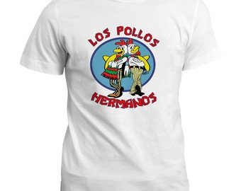 Breaking Bad Los Pollos Hermanos Funny T-Shirt / TV Show Inspired Gift Tee Top