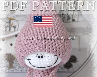 LUCKYDOLL  amigurumi - ENGLISH PDF digital crochet pattern