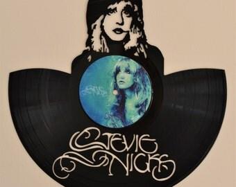 Stevie Nicks Vinyl Record Wall Art