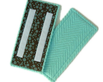 Shammy inside, textured cotton terry outside. Reusable, washable, durable pads for Swiffer WetJet Spray Mop. Superior absorption!