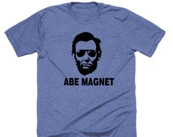 Abe Magnet. Abe Lincoln shirt.