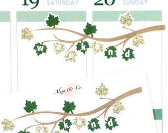 Weekend Banner - Leaves Patterns #342