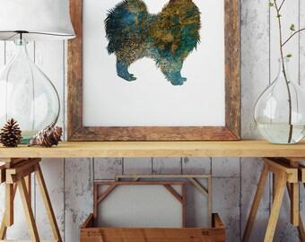 Spitz - Art Print - Wall Poster - Dog Illustration - Spitz Wall Decor