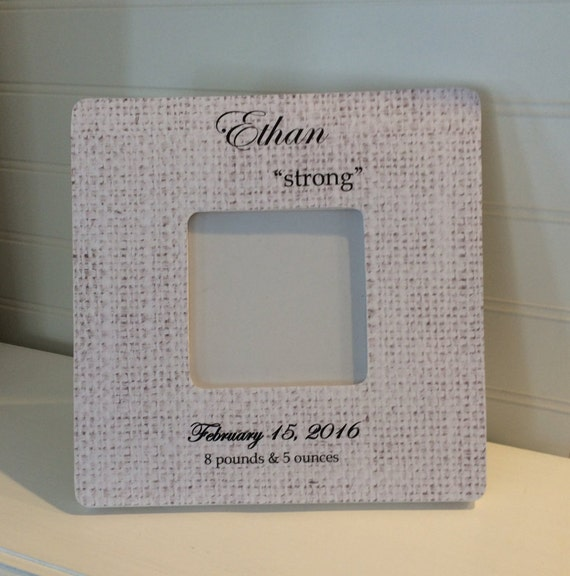 Baby Gift With Name : Name meaning picture frame baby gift by cherryvilleletters