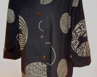 Scirroco Asian Lantern Print Jacket - FA13-016