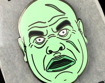 Plan 9 From Outer Space Ed Wood Tor Johnson 'Graveyard Ghoul' Enamel Pin - Lapel Pin