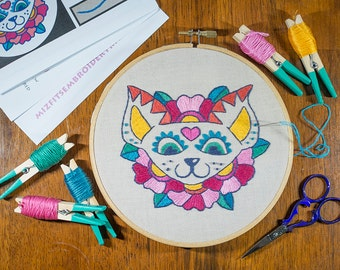 """Puppy-Mex 6"""" Embroidery Kit - FREE AUSTRALIAN SHIPPING!"""