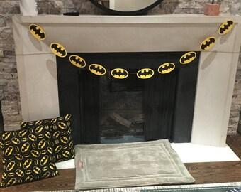 Batman Symbol Garland