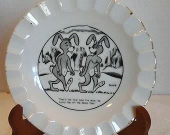 Vintage Bunny Ashtray