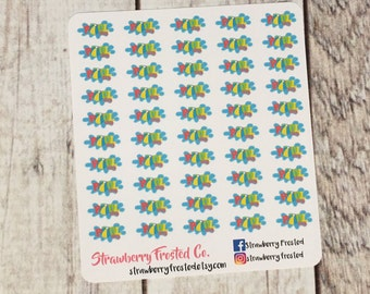 MINI SIZE Pool Day Planner Stickers -Planners//Personal Size  Planner
