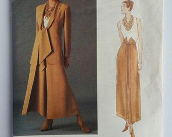 Vintage Vogue Montana UNCUT 1524 Paris Original Pattern Misses Jacket and Pants semi fitted