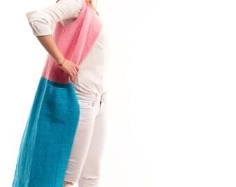 VAJU Hand Knitted Long Cardigan Fashionable Cardigan Women's Cardigan Spring Cardigan Coat-Cardigan Knit Fashion