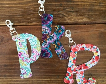 Custom Initial Letter/ Custom Name Keychain Accessories
