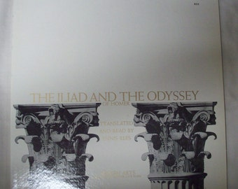 The Iliad and the Odyssey of Homer- Vinyl record