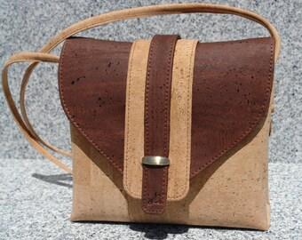 All Cork Handbag/Shoulder bag/Crossbody  bag/Purse