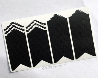 Aztec Chevrons Nail Vinyls - Nail Vinyl Guides for Nail Art