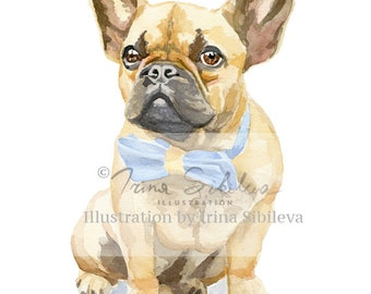 Frenchie (Print)